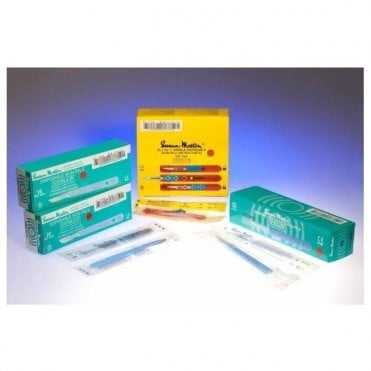 Swann-Morton Disposable Sterile Scalpels No.15C (0521) Box10