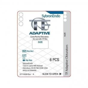 SybronEndo TF Adaptive Obturator Med/Large Red ML3 - Pack6