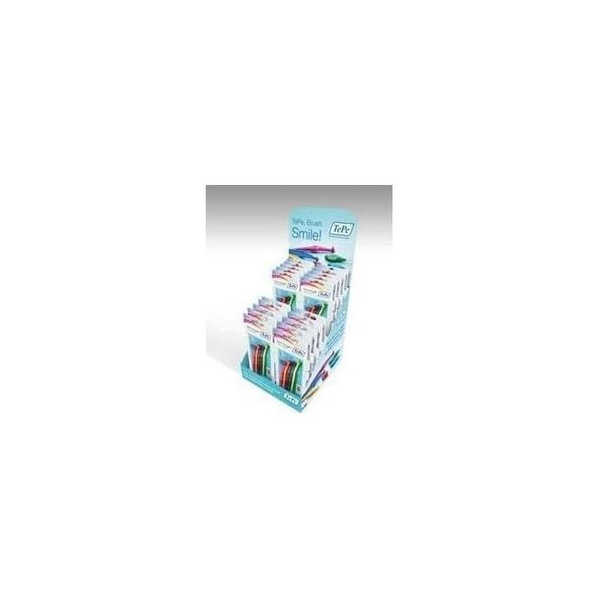 TePe Filled Interdental Brush Counter Display Unit Angle