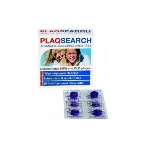 TePe PlaqSearch Tablets x 20 Patient Box (992677) - Box12