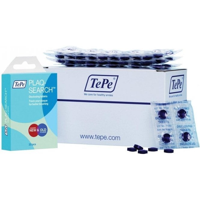 TePe PlaqSearch Two-tone disclosing Tablets - Pack250
