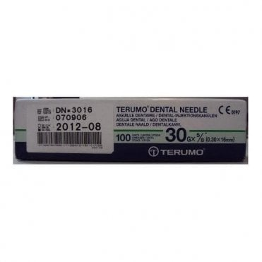 Terumo Dental Needles 30g Ultra Short (DN*3016) - Box100
