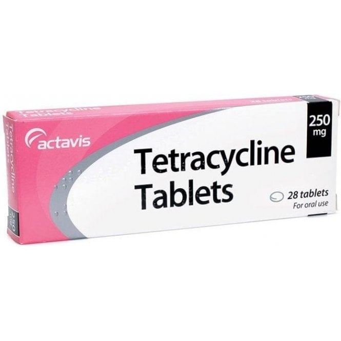 Tetracycline Tablets 250mg - Pack28