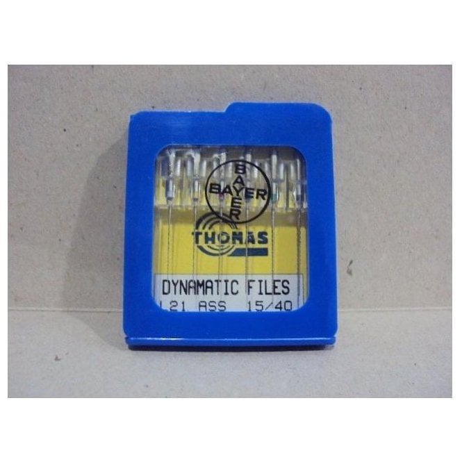Thomas Dynamatic Files L21mm Size 15/40 - Pack6