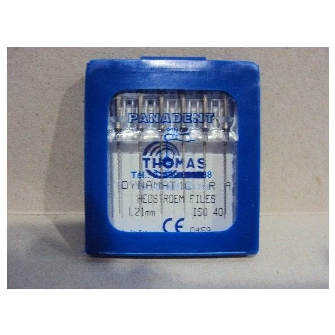 Thomas Dynamatic Files L21mm Size 40 - Pack6
