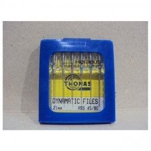 Thomas Dynamatic Files L21mm Size 45/80 - Pack6