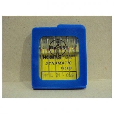 Thomas Dynamatic Files L21mm Size 55 - Pack6