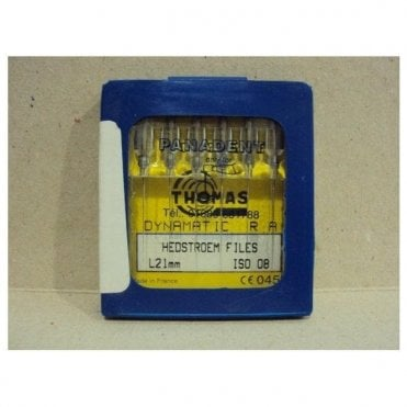 Thomas Dynamatic Files L21mm Size 8 - Pack6