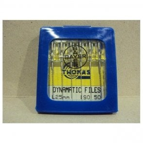Thomas Dynamatic Files L25mm Size 50 - Pack6