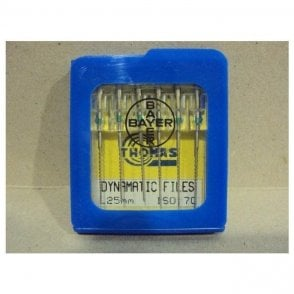 Thomas Dynamatic Files L25mm Size 70 - Pack6