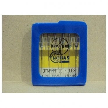 Thomas Dynamatic Files L28mm Size 15/40 - Pack6