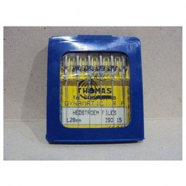 Thomas Dynamatic Files L28mm Size 15 - Pack6