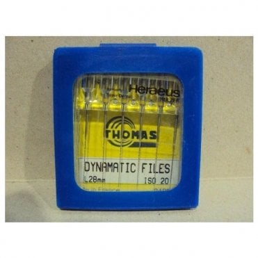 Thomas Dynamatic Files L28mm Size 20 - Pack6