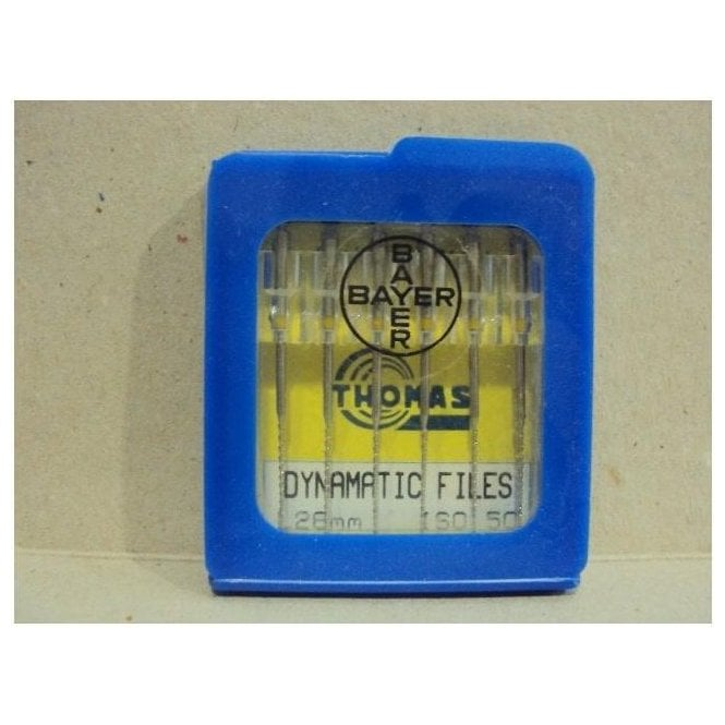Thomas Dynamatic Files L28mm Size 50 - Pack6