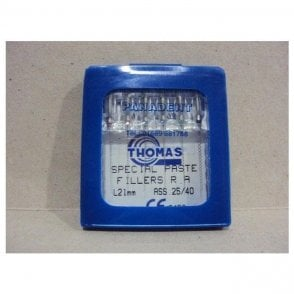 Thomas Special Paste Fillers L21mm Size 25 - Pack6