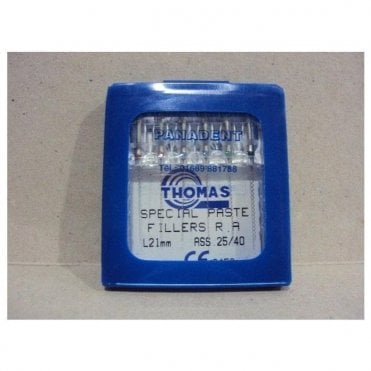 Thomas Special Paste Fillers L25mm Size 25 - Pack6