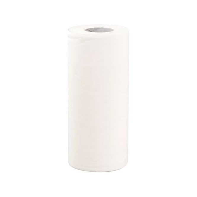 "UnoDent 10"" Roll Towel 2 Ply White (CAD035) - Case18"