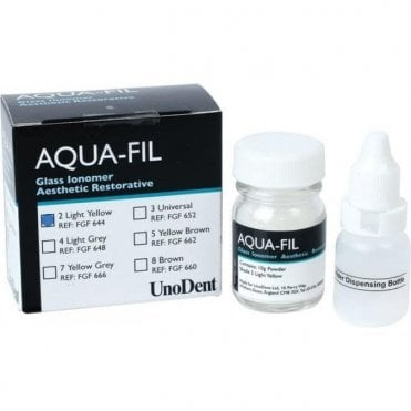 UnoDent Aqua-Fil No.4 Light Grey 10g Powder (FGF648) - Each