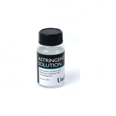 UnoDent Astringent Solution 20ml (IRU103) - Each
