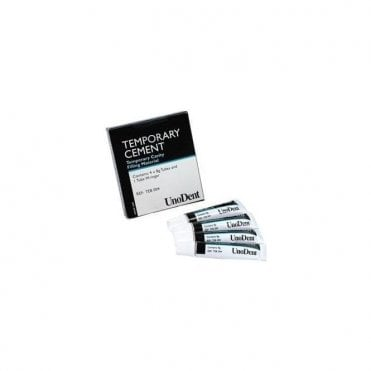 UnoDent Cavity Temporary Cement Tubes 4x8g (TEB004) - Pack4