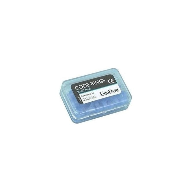 UnoDent Code Rings Large Light Blue (GIX160) - Pack50