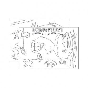 UnoDent Colouring Pads In The Swim (PMP026) - Each