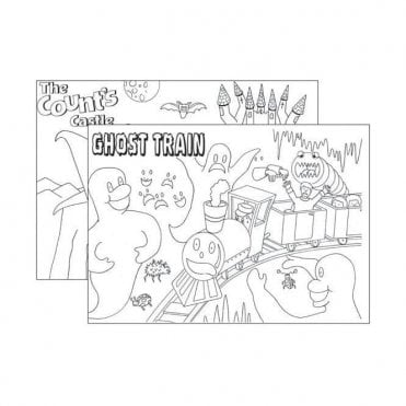 UnoDent Colouring Pads Spooky (PMP025) - Each