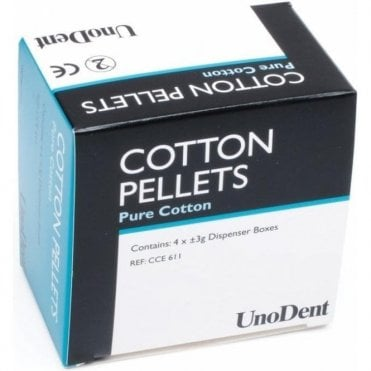 UnoDent Cotton Pellets No.2 (CCE611) - Box800