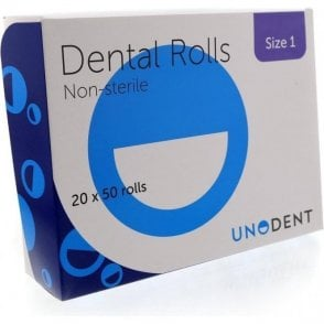UnoDent Cotton Wool Rolls No.1 (CCA104) - Box1000