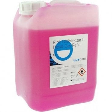 UnoDent Disinfectant Hand Gel Economy Refill 5L - Each