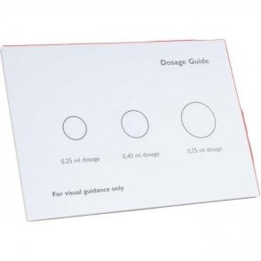 UnoDent Dosage Guide Pad 20 Sheets - Each