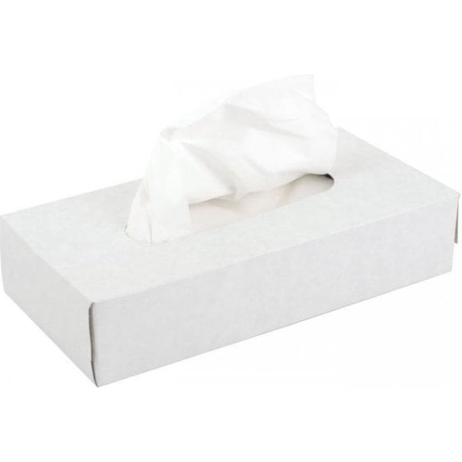 UnoDent Facial Tissues 2 ply White - Case36