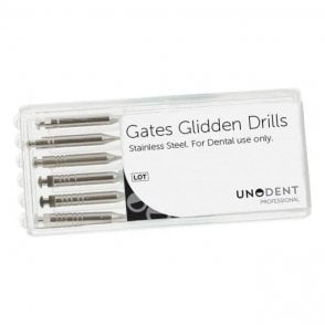 UnoDent Gates Glidden Drills No. 1-6 - Pack6