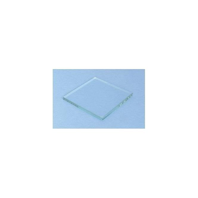 UnoDent Glass Mixing Slab 4x4x1/4 Plain (YMG020) - Each