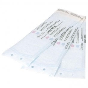 "UnoDent Hangline Pouches 90 x 230mm (3.5"" x 9"") - Box200"