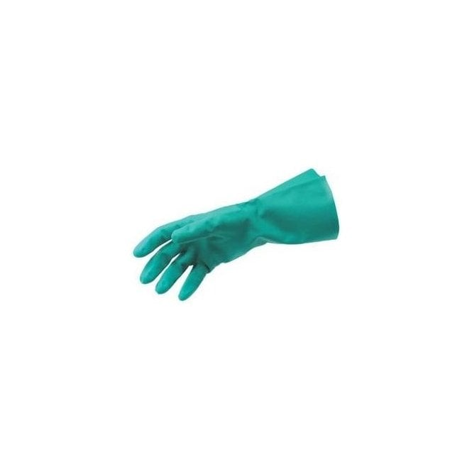 UnoDent Heavy Duty Green Nitrile Gloves Large (CGS210) -Pk12