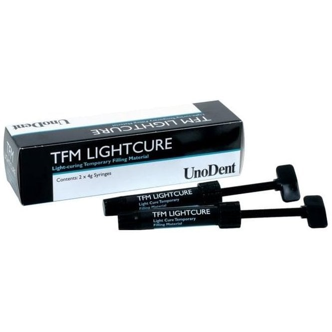 UnoDent Light Curing Temporary Filling Material 2x4g TEB030