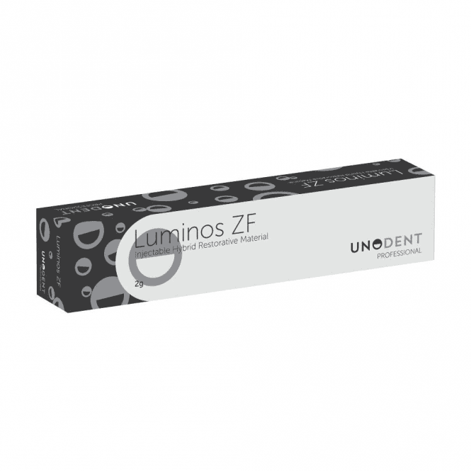 UnoDent Luminos ZF Syringe INC 2g (FLU878) - Each