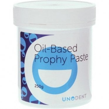 UnoDent Oil-Based Prophy Paste Orange Medium 250g (PPA030)