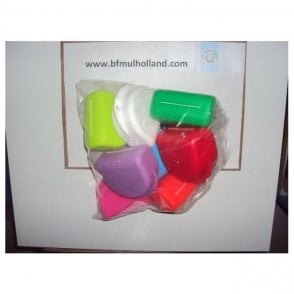 UnoDent Orthodontic Boxes Assorted Colours (YOM200) - Pack8