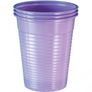 UnoDent Plastic Cups Lilac - Case2000