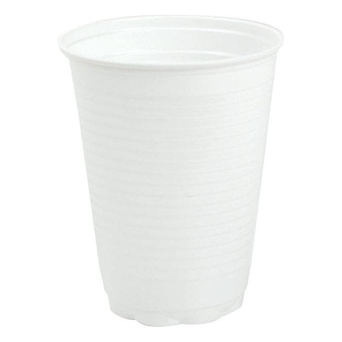 UnoDent Plastic Cups White - Case3000