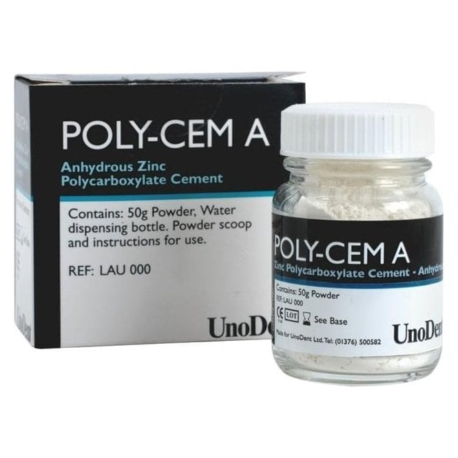 UnoDent Poly-Cem A Complete Kit 50g - Each