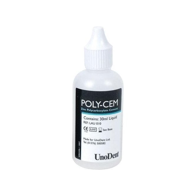 UnoDent Poly-Cem Liquid 30ml - Each