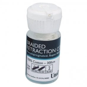 UnoDent Retraction Cord Size 2 300cm (IRU002) - Each