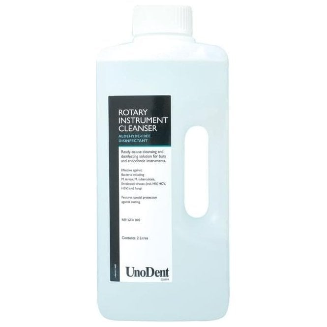 UnoDent Rotary Instrument Cleanser 2L (GEU010) - Each