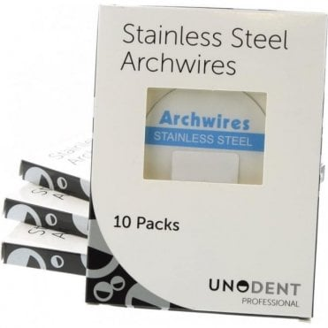 UnoDent S/Steel Archwires Natural Archform Lower 018 Uno Pk