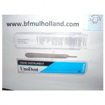 UnoDent Scalpel Handle No.3 (SHU013) - Each
