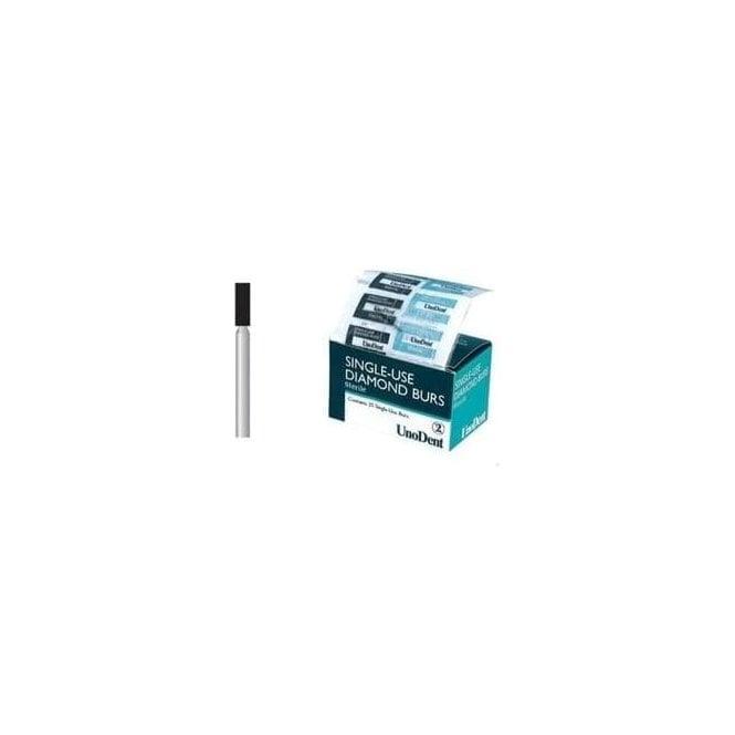 UnoDent Sterile Diamond Bur FG 542 Single Use (BES542)-Box25