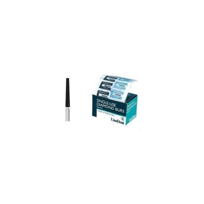 UnoDent Sterile Diamond Bur FG 556 Single Use (BES556)-Box25